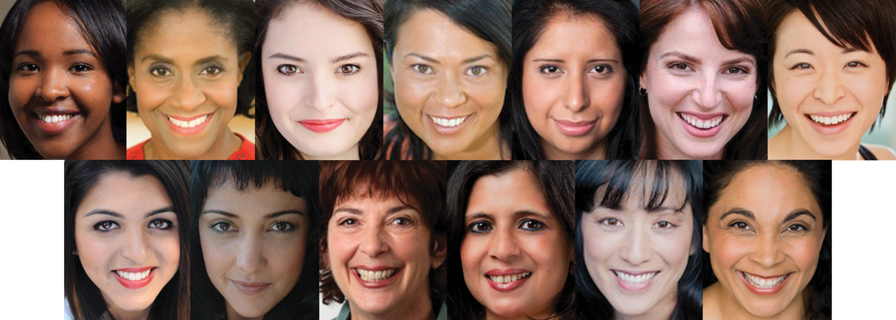Cast of Feed Your Mind: THE PENELOPIAD: Miski Ali, Angie Bolton, Ana Maria Campoy, Christi Cruz, Yadira Duarte, Alyssa Keene, Stephanie Kim-Bryan, Sneha Krishnan, Duygu Erdoğan Monson, Meenakshi Rishi, Meg Savlov, Naho Shioya, and Amber Wolfe