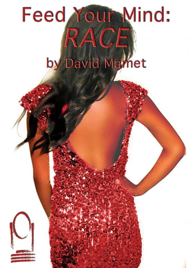 Red Sequin dress RACE by David Mamet