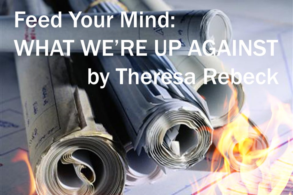 burning blueprints WHAT WE'RE UP AGAINST by Theresa Rebeck